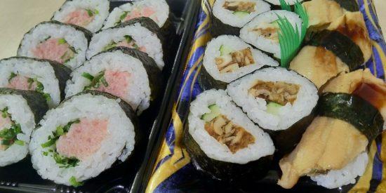ネギトロ寿司 穴子寿司