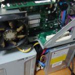 デスクトップパソコン分解