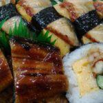 鰻寿司セット
